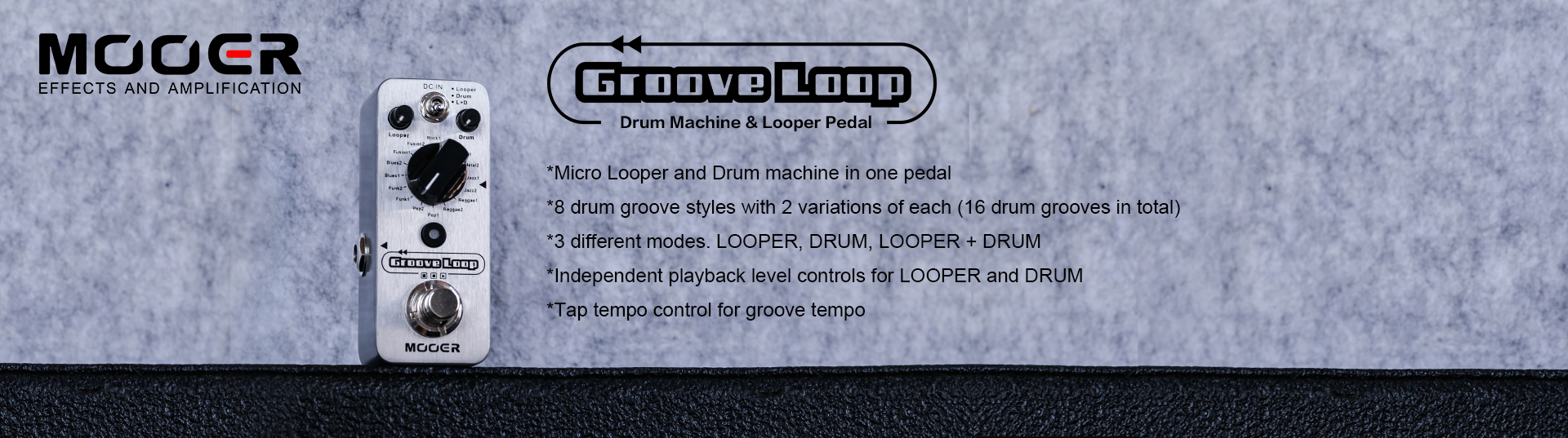 Groove Loop_Shenzhen Mooer Audio Co , Ltd