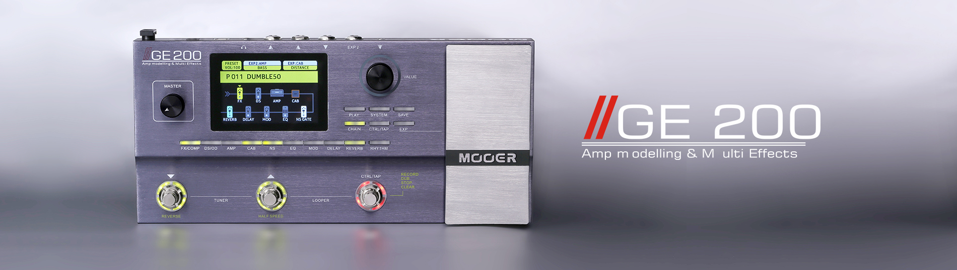 GE200 _Shenzhen Mooer Audio Co , Ltd